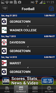 Georgetown Hoyas All-Access - screenshot thumbnail