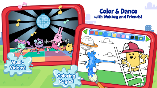 【免費教育App】Wubbzy's Fire Engine Adventure-APP點子