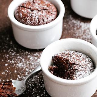 Flourless Chocolate Almond Cakes