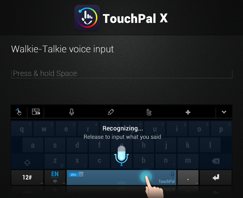 TouchPal X Keyboard - screenshot