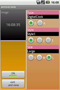 ActiveClock - screenshot thumbnail