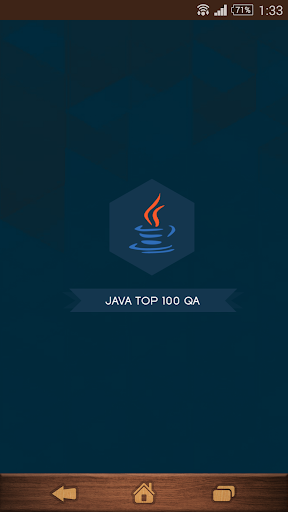 Java Top 100 QA