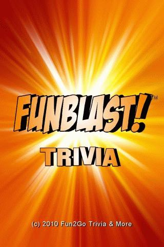 FunBlast! Trivia Quiz - screenshot