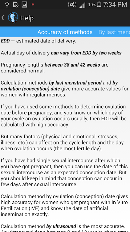Pregnancy Calculator – (Android Apps) — AppAgg