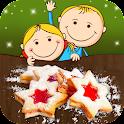 Plätzchen - Backen mit Kindern icon
