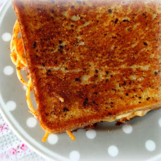 Spag Bol and Cheese Garlic Toastie