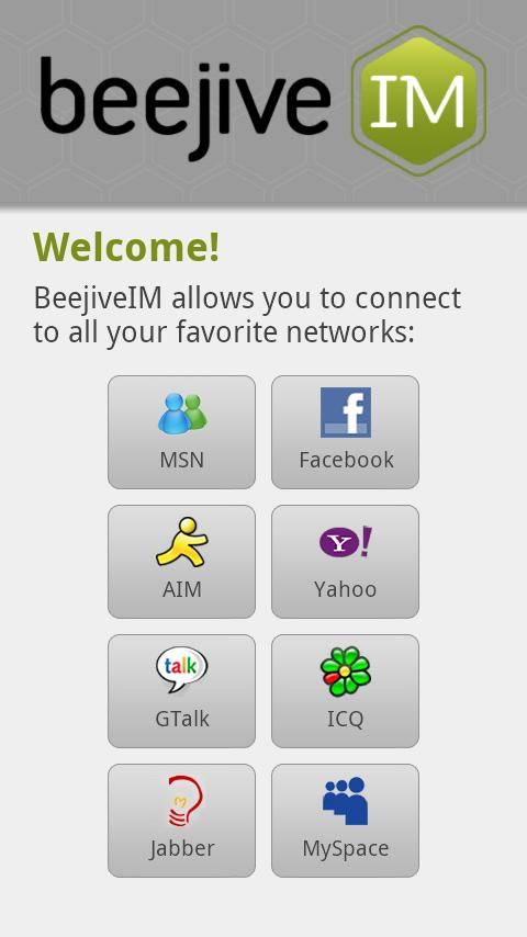 BeejiveIM Pro - screenshot