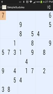 SimpleSudoku 1