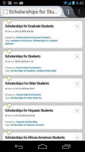 Scholarships Grants App Free
