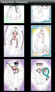 Funny Dots - Princesses- screenshot thumbnail