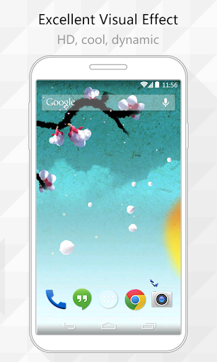 Watercolors Live Wallpaper