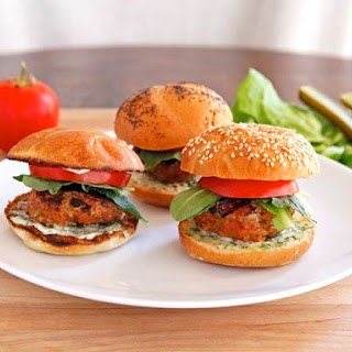 Spiced Up Turkey Burgers Recipe