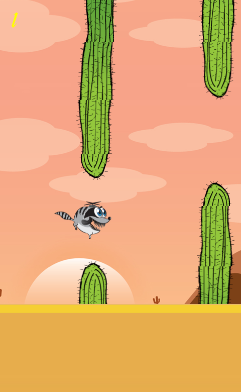 Razy Raccoon- screenshot