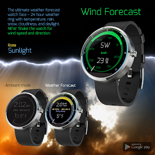 Krona Sunlight Watchface screenshot for Android
