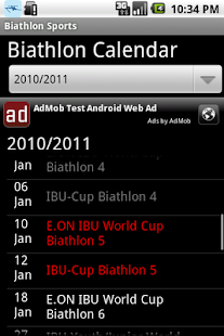 Biathlon sports - screenshot thumbnail