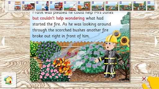 【免費書籍App】Frank the Fireman-APP點子