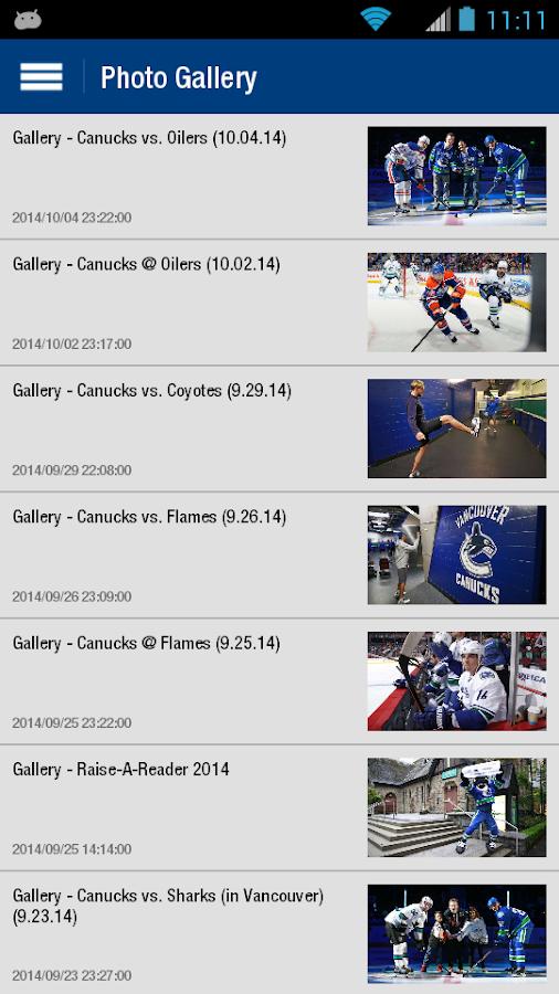 Vancouver Canucks - screenshot