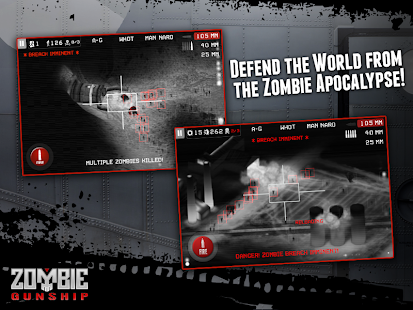 Zombie Gunship: Gun Dead 3D - screenshot thumbnail