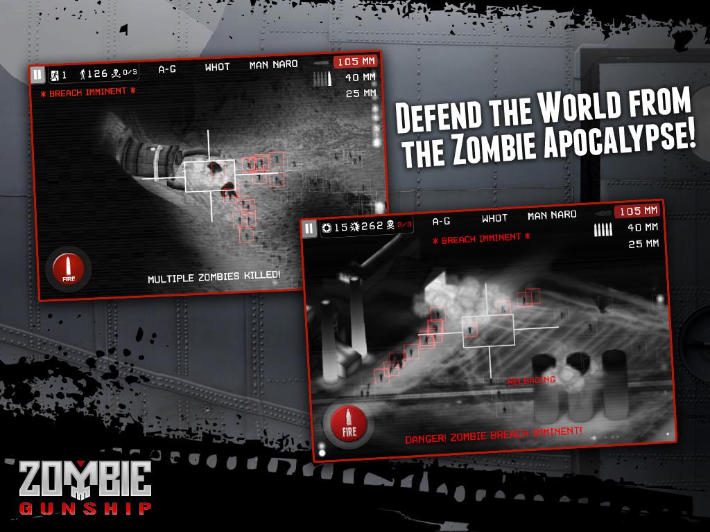 Zombie Gunship screenshot #12