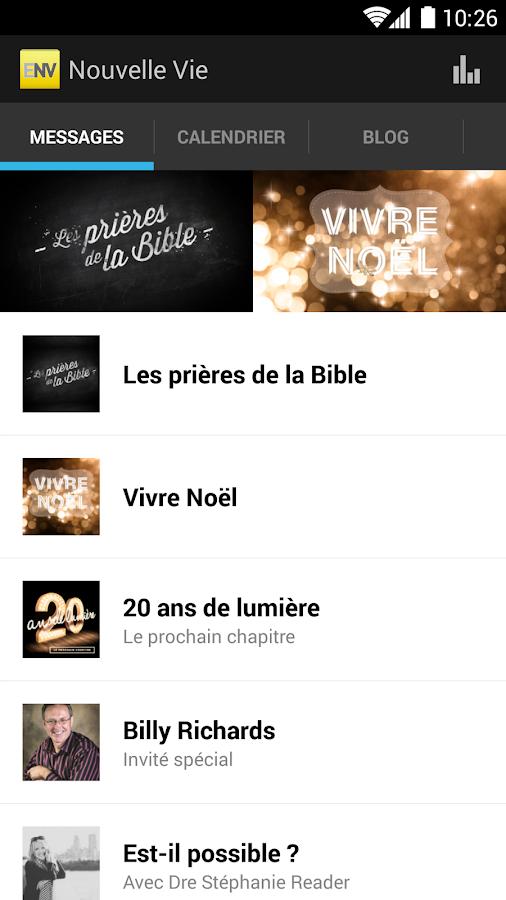 Église Nouvelle Vie - screenshot