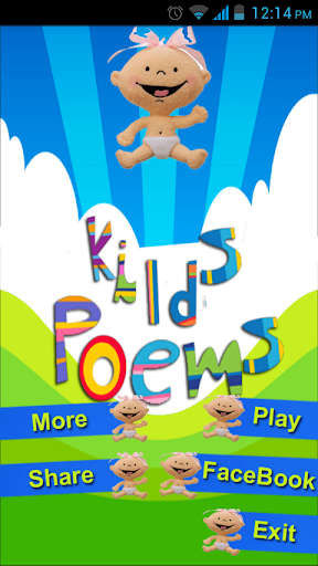 Kids Poems Free Application
