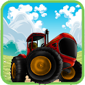 Farm Tractor Racing icon