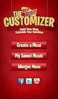 Screenshot of Red Robin Customizer