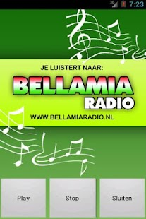 Bellamiaradio.nl- screenshot thumbnail