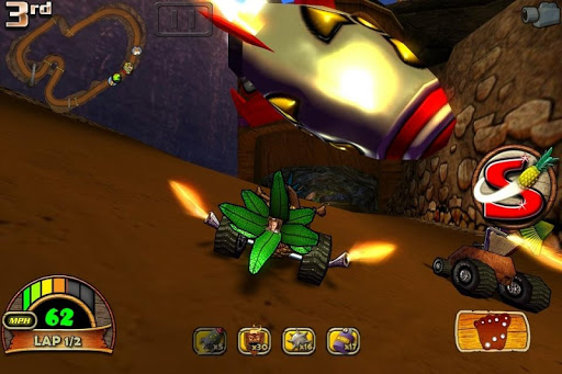 Tiki Kart 3D Screenshot