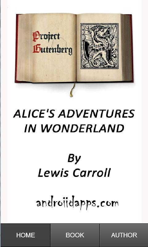 Alice Adventures in Wonderland - screenshot