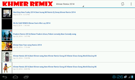 Free Khmer Remix And Radio APK
