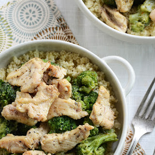 Chicken & Broccoli Lunch Bowl in 10 Minutes.