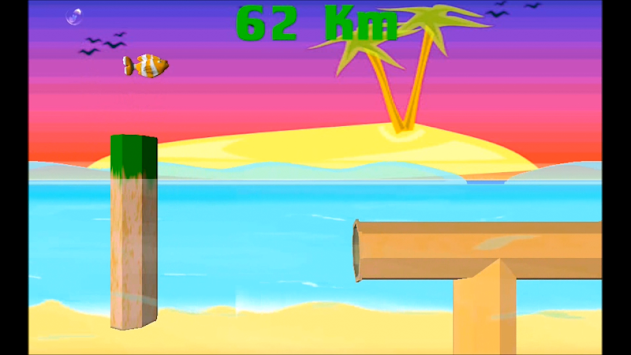 Jumpy Fish 3D apk screenshot