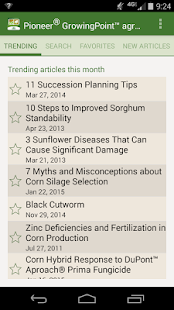Pioneer GrowingPoint agronomy- screenshot thumbnail