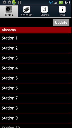 Alabama Football Live