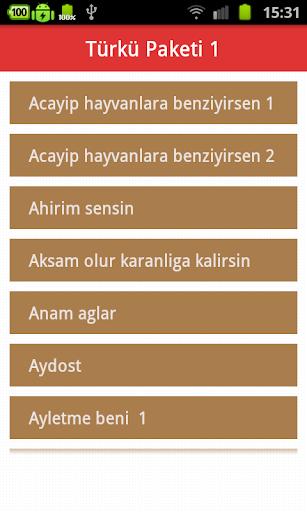 トルコ民謡着メロ 1