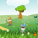 Summer Easter Bunnies LWP