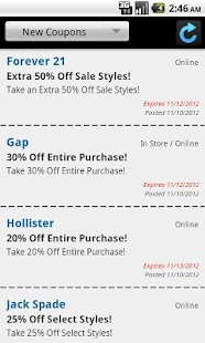 Holiday Deals & Coupons - screenshot thumbnail