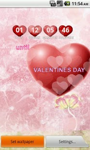 Valentines Day Live Wallpaper - screenshot thumbnail