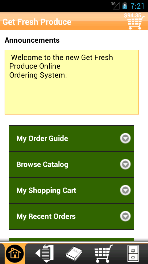 Get Fresh Produce Checkout- screenshot