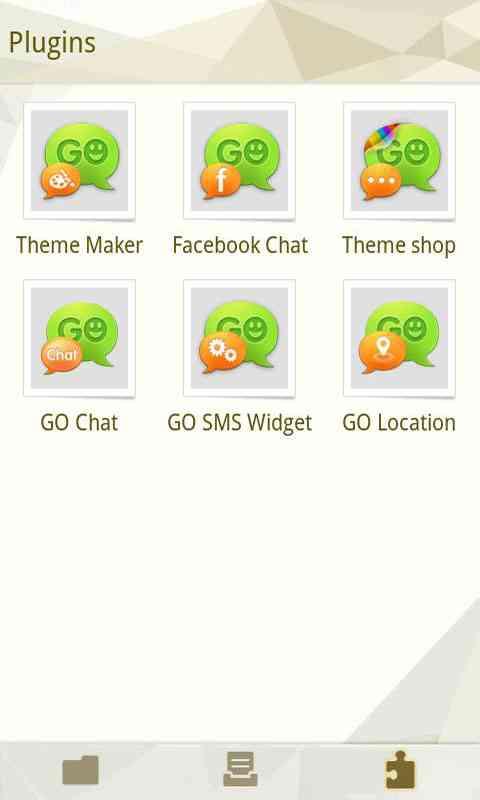 GO SMS Pro Cornner theme screenshot #4