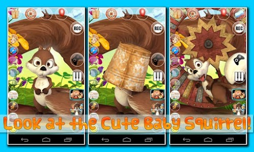 Talking Baby Squirrel Deluxe v1.9