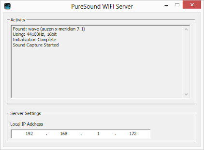 pureSound WIFI Trial- screenshot thumbnail