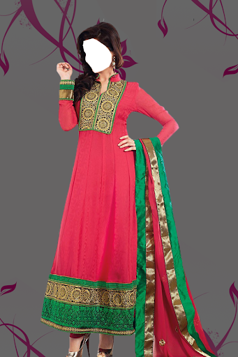 Salwar Kameez Woman Photo Suit