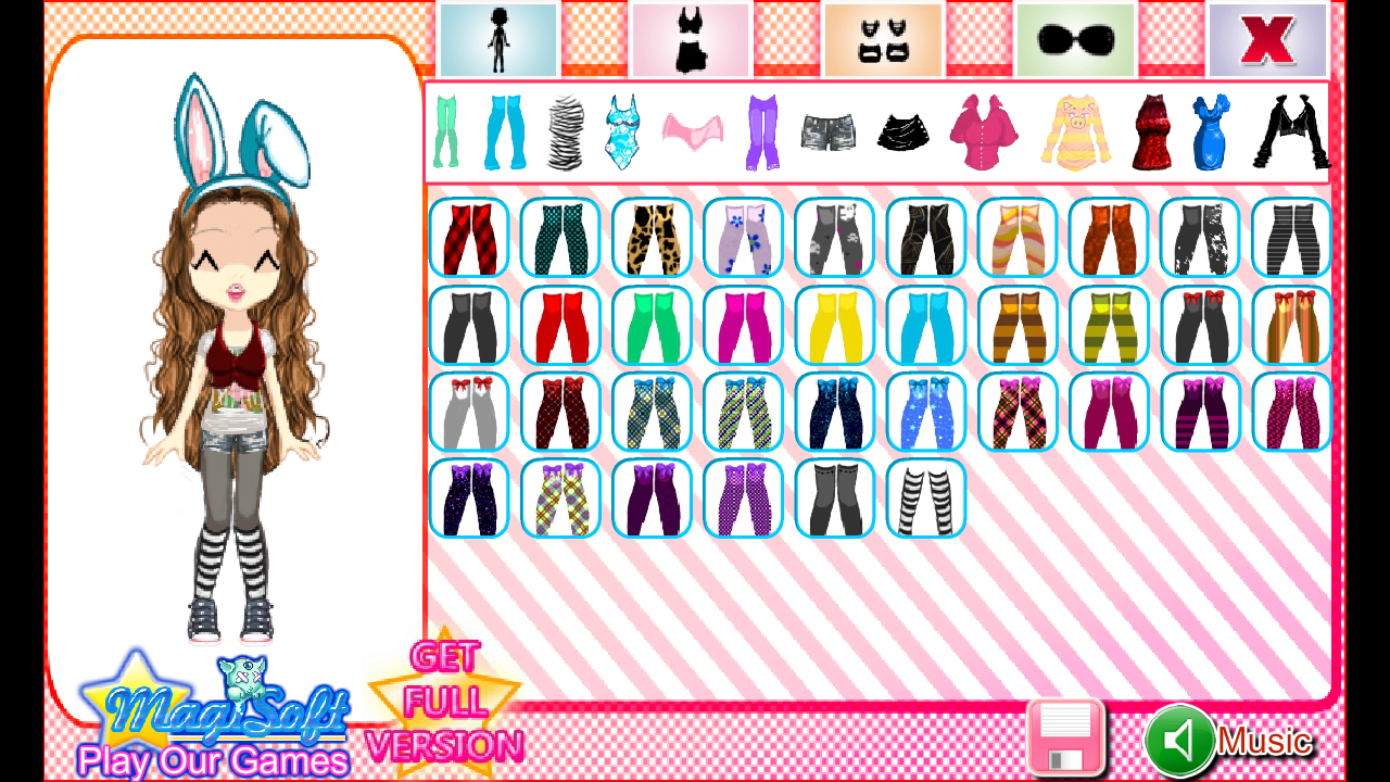 Maidens Avatar Creator Lite - screenshot