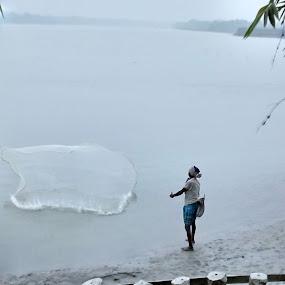 Work & Life... by Debabrata Deb - Landscapes Waterscapes