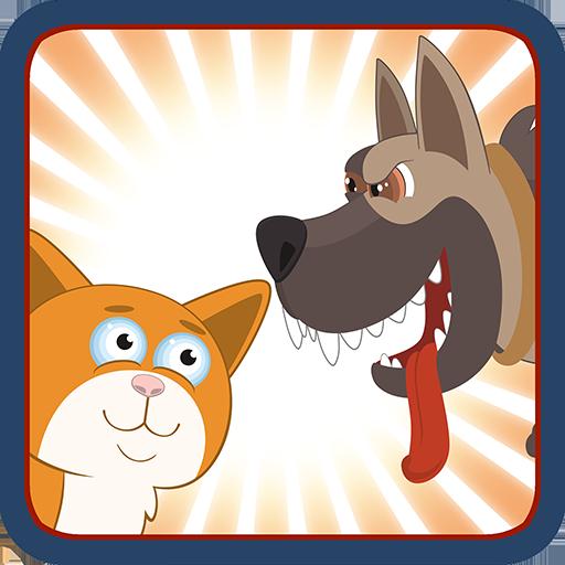 狗和貓的戰爭策略 LOGO-APP點子