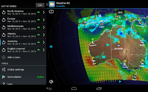 Weather4D- screenshot thumbnail