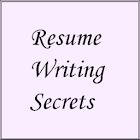 Resume Writing Secrets icon