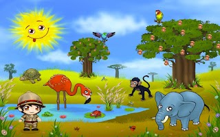 Screenshot of Africa Animal Puzzel For Kids